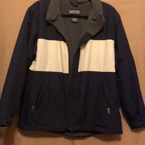 Lands end jacket. Heavy duty. Like new  M 10-12